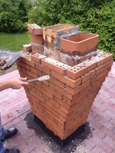 Brick Tuck Point Example 1